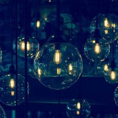 Luxury lighting wallpaper