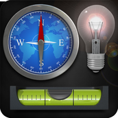 Flashlight Compass