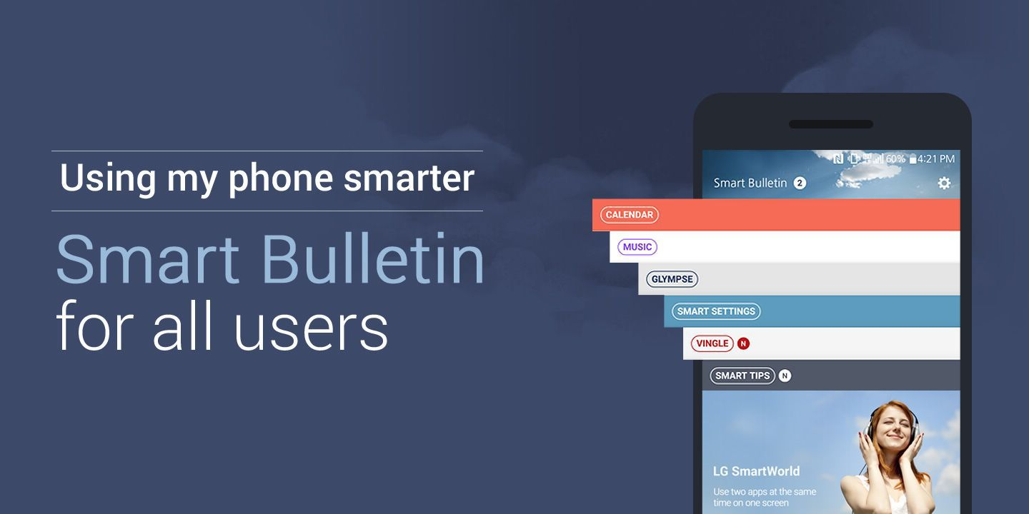 [Using my phone smarter! Smart Bulletin for all LG users]