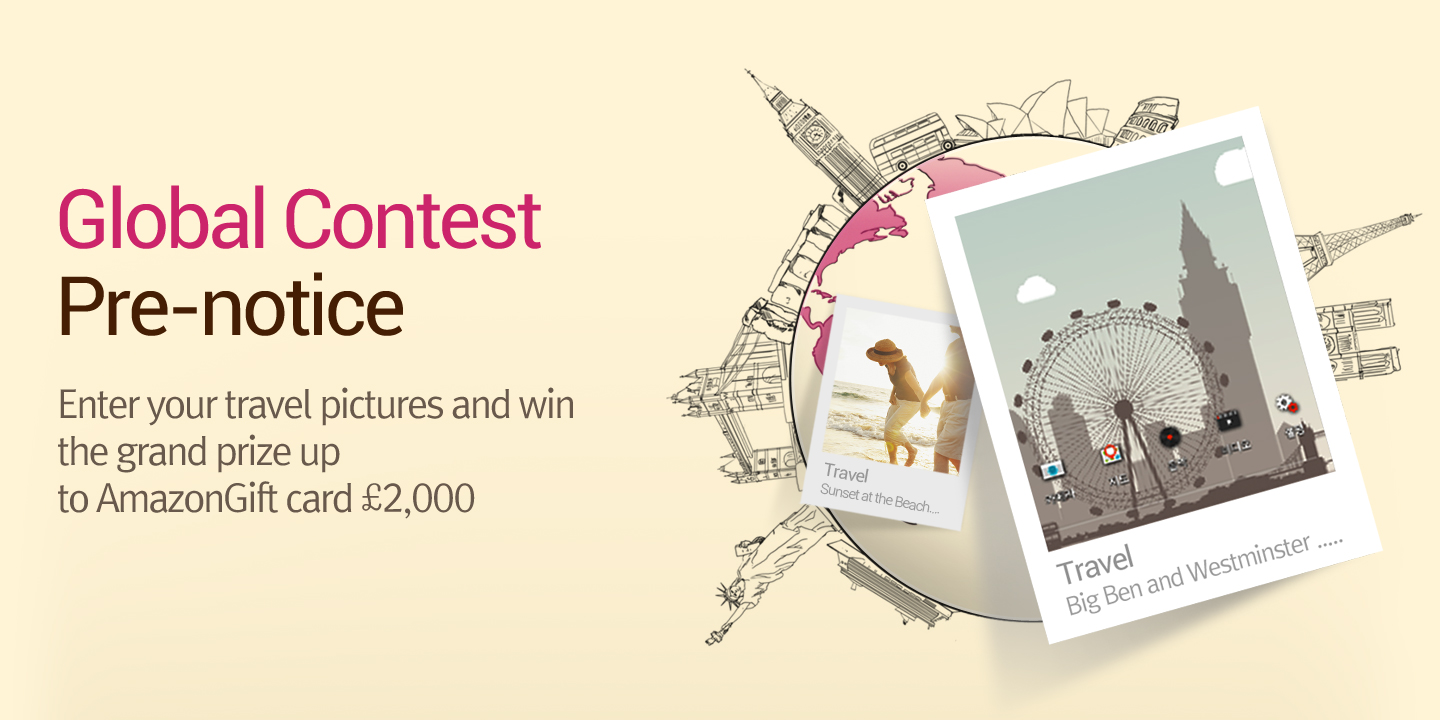 [The 3rd LG Wallpaper Global Contest Pre-notice ]