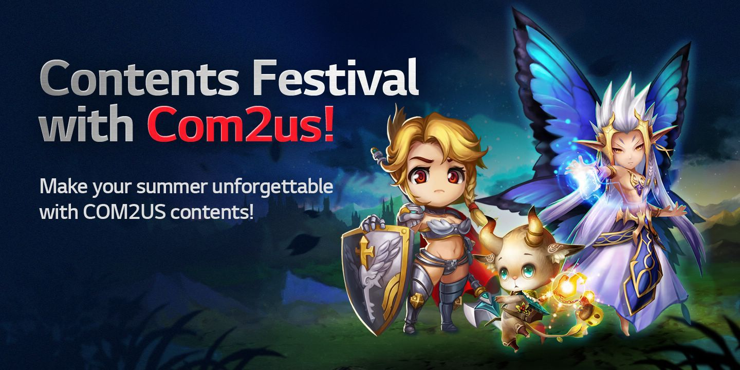 [Contents Festival with Com2us!] Make your summer unforgettable with Com2us contents!