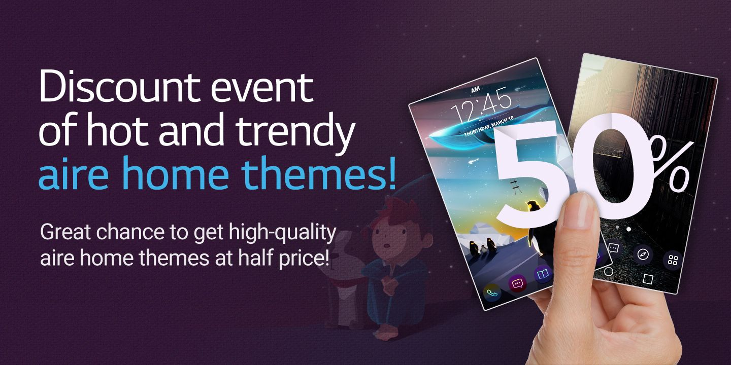 [Great chance to get high-quality Aire home themes at a reasonable price!]
