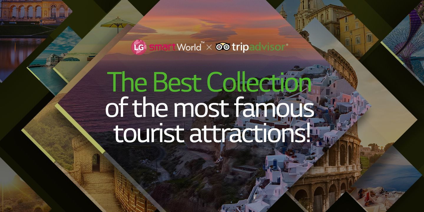 [The Best Collection of the most famous tourist attractions!]